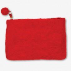 Войлок Сумочка на молнии арт.DMS- 72-73684 (15х10 см)