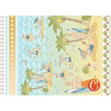 Декупажная карта арт.CH.014940 'День на пляже'  формат А3