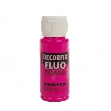 CFX.17888.11015 Corfix Декор.акрил. краски DECORFIX флуоресцентная FLUO 1015 пурпурный 60 мл  Р