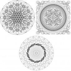 Живопись на картоне Белоснежка арт.БЛ.2965-CS Магические мандалы 'Твой мир'