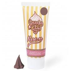 FL.08-0002 FLEUR Candy Clay Масса для лепки. Крем ' Шоколадный '