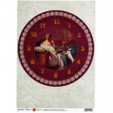 Декупажная карта арт.CH.009193 'Завтрак аристократки' формат А3