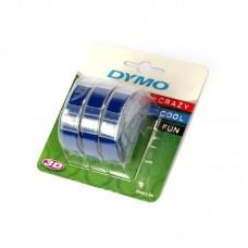 Лента OMEGA арт.DYMO-12744/S0847740 для механ принтеров 9ммх3м цв.синий
