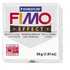 FIMO Effect полимерная глина, запекаемая в печке, уп. 56 гр. цвет: прозрачный арт.8020-014