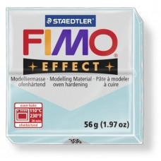FIMO Effect полимерная глина, запекаемая в печке, уп. 56 гр. цв. голубой ледяной кварц, арт.8020-306