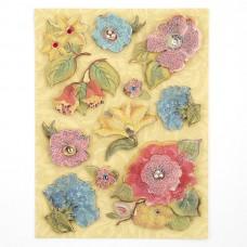 Стикеры-украшения арт.KCO-30-389120 Цветы, Секреты природы