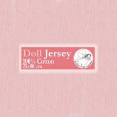 WIT.T10103 Телесный трикотаж для вальдорфских кукол DE WITTE ENGEL 25*80см цв.розовый