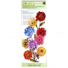 Набор бумаги с вырубкой арт.KCO-30-598720 Цветы, Сад, 138 шт.