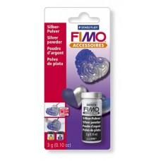 FIMO Cеребряная пудра, 3 г. арт. 8708 ВК
