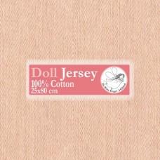 WIT.T11603 Телесный трикотаж для вальдорфских кукол DE WITTE ENGEL 25*80см цв.бежевый
