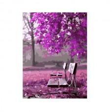 Картины по номерам Molly арт.G366 Малиновое Цветение (21 Краска) 40х50 см