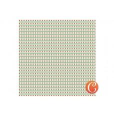 Бумага для скрапбукинга арт.CH.14340 'Праздничная суета' 29х29 см