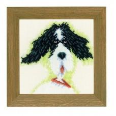 Набор для вышивания  арт.LANARTE-21218А 'Мини-собачки' 13х13 см  СР